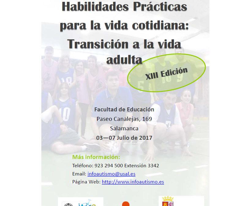 XIII Edición del curso de verano Habilidades Prácticas para la Vida Cotidiana