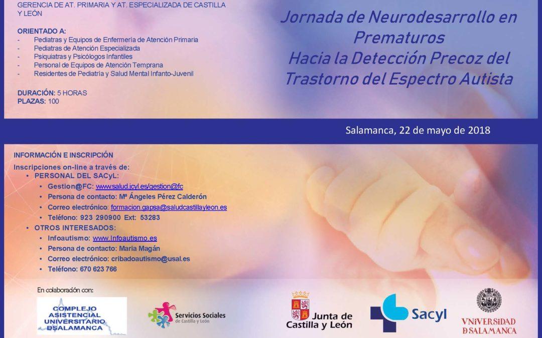Jornada de Neurodesarrollo en Prematuros Hacia la Detección Precoz del Trastorno del Espectro Autista