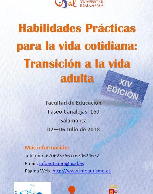 XIV Edición del curso de verano Habilidades Prácticas para la Vida Cotidiana