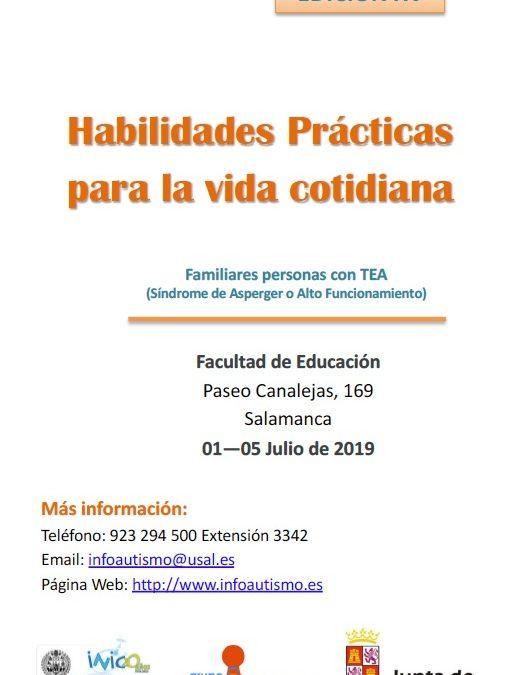 XV Edición del curso de verano Habilidades Prácticas para la Vida Cotidiana (Familias)
