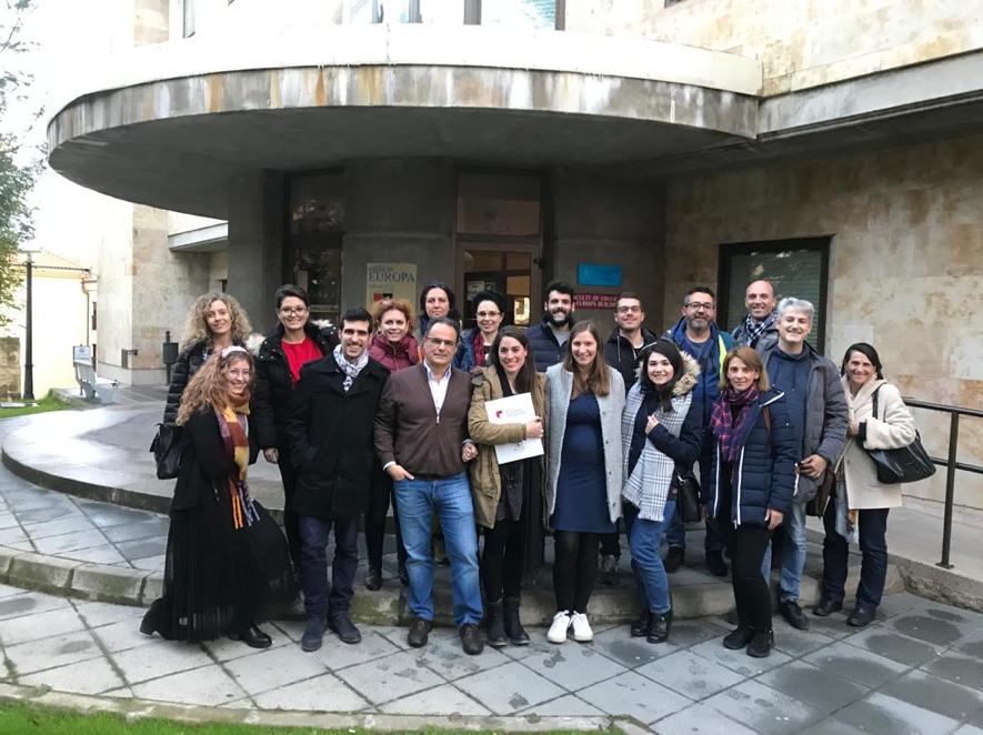 Formación sobre el modelo ImPACT y Transnational Meeting en Salamanca